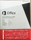 ※未開封※ Microsoft Office Home and Business 2013日本語版+PCパーツ