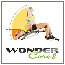 【2000円クーポン!追加割引】[送料無料]Wondercore 2 (ワンダーコア2) /wonder core 2/fitness/腹筋運動/健康/ダイエット/体力/脂肪を減らす/体つき/運動器具/daam/室内運動/ワンダーコア