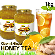 In Singpore★1+1 Korean Honey Citron Tea★1kg Big Size/Korean Food/Korean Drink/Korean Tea