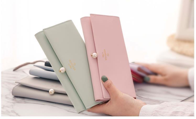 新品財布 レディース財布7色から選べる レディース 女の子 韓国ファッション 財布 レディース 可愛い 小銭入れ 高級 レザー ラウンドファスナー 財布 韓国