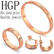*Buy 5 Free Shipping* 2015 new fashion diamond bracelets rings and earrings*Necklaces and anklets(HGP Healthy Jewelry)