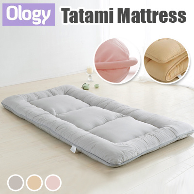 Foldable Futon Mattress Singapore Tatami Ergonomic Anti Bacteria Bedding Blanket Floor Mat Topper Protector