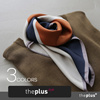♥theplus♥  秋から冬、春まで〜♥  スカーフ コレクション ♥ スーパータイムセール価格!3990→1890→1590 !! ♥ Autumn Scarf Collection /  Muffler /  Pattern /  Two-tone Point / Cozy and Warm