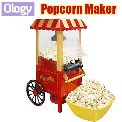 Electric Popcorn Maker Machine Cotton Candy Mini Home Appliance Household Party Catering Deals for only S$110 instead of S$0