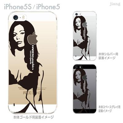 【iPhone5S】【iPhone5】【HAREM graphics】【iPhone5sケース】【カバー】【スマホケース】【クリアケース】 hgx-ip5s-018の画像