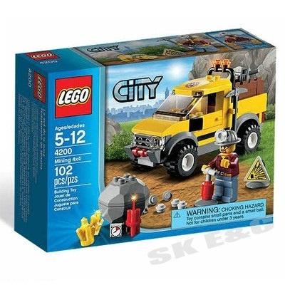 【クリックで詳細表示】[LEGO] レゴ シティ 4200 4WDダイナマイトキャリア / 送料無料