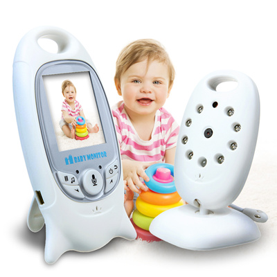 qoo10 no hidden price baby monitor 2 0 inch video wireless baby monitor sec baby maternity. Black Bedroom Furniture Sets. Home Design Ideas