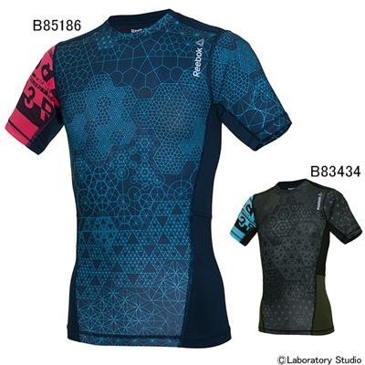 リーボック (Reebok) ワンシリーズ Comp グラフィック ショートスリーブTシャツB BM730 [分類:コンディショニングシャツ (メンズ・ユニセックス)]の画像