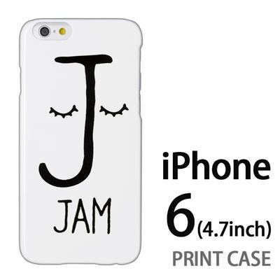 iPhone6 (4.7インチ) 用『0623 「J」』特殊印刷ケース【 iphone6 iphone アイフォン アイフォン6 au docomo softbank Apple ケース プリント カバー スマホケース スマホカバー 】の画像