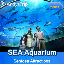【S.E.A Aquarium Sentosa】Admission E-ticket Singapore Attraction Tickets Email delivery