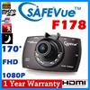 [SAFEVue]F178 170°1080P FHD Car Camera Car DVR☆Premium Quanlity☆Better than Blackvue☆1080P FullHD☆ON
