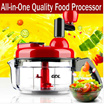 NEW GDL Manual Food Processor MultiFunction Grind Grinder Chopper Dice Meat Onion