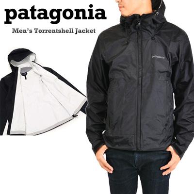 パタゴニア Patagonia メンズトレントシェルジャケット MEN'S TORRENTSHELL JACKET 83801-155 Blackの画像