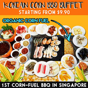 Korean Corn BBQ Buffet