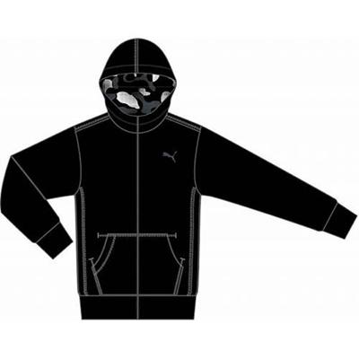 プーマ(PUMA) リバーシブルジャケット 831236 01 ブラック 【メンズ トレーニングウェア ランニング ブレーカー】の画像
