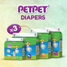 PETPET DayPants M to XL (3 Packs Crazy Sale) BEST PRICE