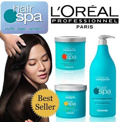 Qoo10 62 off best seller loreal hair spa shampoo for Loreal salon hair products