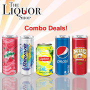 [Choose Combo Deal!] Cheap Good Soft Drink Deals [REVIVE][LIPTON][MIRANDA STRAWBERRY][PEPSI][MUG]TLS