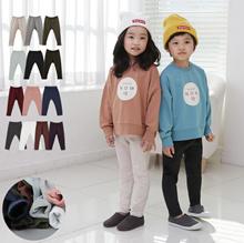 [HOWRU X PLAYMALL] Warm Napping Kids Leggings 17 Styles Korea  Japan Kids Fashion★Boy/Girl Leggings