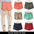 2015【New Arrivals】Plus Size Women Short Pant Skirt Large size Short Pants/Colours Short Pants Plus Size Women Fashion KUZI22-YZ03