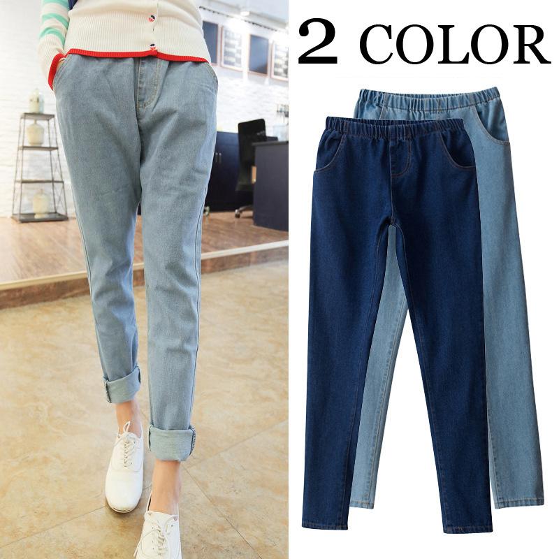 ホット高品質のボーイフレンドスタイルのジーンズはドレスの女性はジーンズバギージーンズ女性/ダウンロード/ジーンズパンツストレッチ洗う一致します