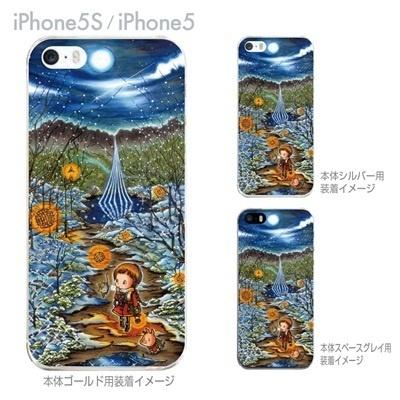 【SWEET ROCK TOWN】【iPhone5S】【iPhone5】【iPhone5sケース】【iPhone5ケース】【カバー】【スマホケース】【クリアケース】【イラスト】 46-ip5s-sh0022の画像