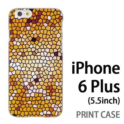 iPhone6 Plus (5.5インチ) 用『No3 モザイクステンドグラス』特殊印刷ケース【 iphone6 plus iphone アイフォン アイフォン6 プラス au docomo softbank Apple ケース プリント カバー スマホケース スマホカバー 】の画像