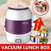 Original Bear Electric Vacuum cover lunch box/rice Mini cooker/Vacuum with double anti-seal/Elegant