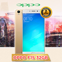 FREE 2500 Qpoints!! OPPO F1S 32GB Gold/Rose Gold Smartphone. Local set  2 years warranty! Casing / Screen Protector Included! Till 10th of Jan 2017!Use Shop Coupon + Qoo10 Coupon For Max Benefit Now