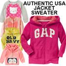 WINTER/JACKET/CARDIGAN/SWEATER/COLDWEAR/TRAVEL★GAP/OSH KOSH/CARTERS USA★baby/Kids/Children/girl