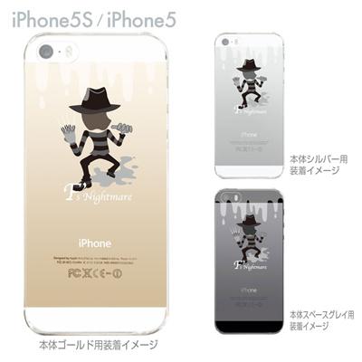 【iPhone5S】【iPhone5】【MOVIE PARODY】【iPhone5ケース】【カバー】【スマホケース】【クリアケース】【ユニーク】【Fs Nightmare】 10-ip5-ca0053の画像
