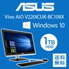 ASUS  Vivo AiO V220ICUK V220ICUK-BC108X 液晶一体デスクトップPC  ※午前中までの決済確認で当日配送(土日祝除く) 【全国一律送料無料】