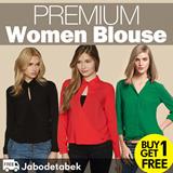 [Buy1Get1]FREE ONGKIR*! PREMIUM BLOUSE collection Premium Quality-women branded blouse/ blouse wanita kemeja wanita busana wanita
