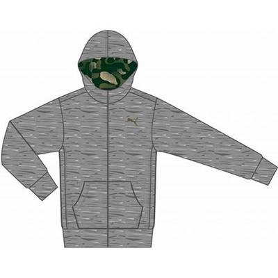プーマ(PUMA) リバーシブルジャケット 831236 03 ミディアム グレイ ヘザー 【メンズ トレーニングウェア ランニング ブレーカー】の画像