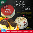 [Olivye Cafe Gelato] Gelato Cakes!!! 750g with Free Delivery.