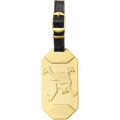 ◆即納◆オークリー(OAKLEY) スカル(SKULL)ネームタグ GOLD 99399JP-503 【メンズ ゴルフ プレート 15】の画像
