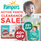 [PnG] NEW n IMPROVED! Pampers Baby Dry Tape - Give your baby UP TO 12 HOURS of skin dryness or up to 7 wettings with Magic Gel Soft Touch-Dry Layer and soft stretchy sides.