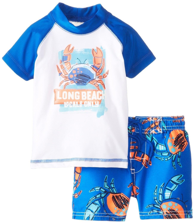 Qoo10 Osh Kosh Baby Boys Infant Rash Guard Set 12 Months