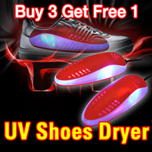 UV Shoe Dryer Buy 3 Get Free 1/ Sanitizer/Eliminate Odour Caused by Perspiration  Bacteria