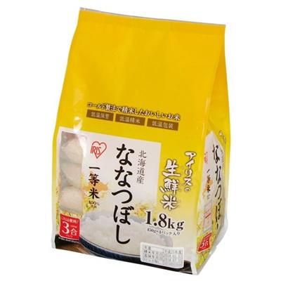 北海道産 ななつぼし 1.8kg (一等米100%)の画像