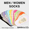 Socks (Men/Women) - Ankle Socks / Boat Socks / Korean Silky Invisible Socks / Korean Lace Boat Socks / Bambo Fiber / Anti-Bacterial Material