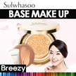BREEZY ★ [Sulwhasoo] Evenfair Face Makeup Line / Perfecting Cushion / Perfecting Cushion Brightening  / Perfecting Powder Foundation / Smoothing Foundation / Base Makeup / Make up