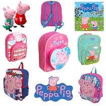 Clearance SALE ▶Peppa Pig series Adorable Kid's Backpack◀GFA-Sweet designs for your lovely kids/ Lightweight for kids/ FINAL STOCK SALE