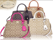 **Coach Margot  Carryall in Signature Canvas**Free Gifts and free shipment**