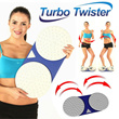 **Turbo Twister** Dual Twisting Plates / Innovative Item / Body Diet Aerobic Exercise For Everyone / Slim Size / Made In Korea / KANO