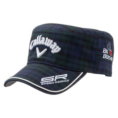 キャロウェイ (Callaway) Tour Work Cap 15JM(ツアーワークキャップ)チェック 5215344 [分類:ゴルフ 帽子・キャップ (メンズ)]の画像