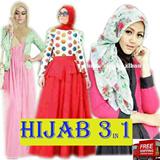 Big Sale pre Ramadhan + Free Ongkir Jabodetabek/Busana Muslim GAMIS/Dress Maxi Hijab Set Model Terbaru/Banyak Pilihan/Promo Spesial