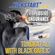 *NEW* KICKSTART GOLD TONGKAT ALI with BLACK GARLIC. Clinically studied Tongkat Ali Physta extract with fermented black garlic for vitality endurance libido and strength.