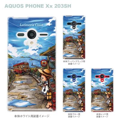 【AQUOS PHONEケース】【203SH】【Soft Bank】【カバー】【スマホケース】【クリアケース】【クリアーアーツ】【アート】【SWEET ROCK TOWN】 46-203sh-sh0011の画像