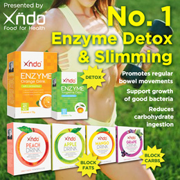 [Introduction Price $9.90] Xndo Enzyme Detox + Slimming Drinks